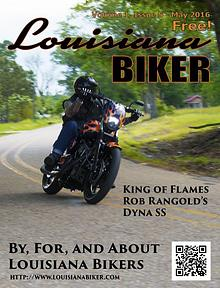 Lousiana Biker Magazine May 2016