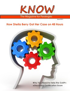 KNOW The Magazine for Paralegals 011k.KNOW.final9