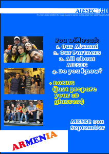 AIESEC in Armenia Newsletter1