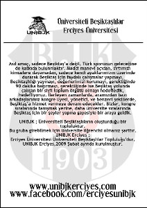 Universiteli Besiktaslilar Erciyes