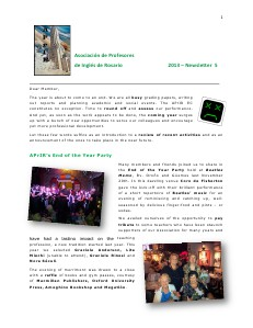 APrIR Newsletters: 2016 and back 5/13 Dec 2013