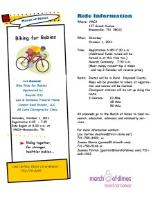 UT_Extention_SUMMER_2011 Biking for Babies