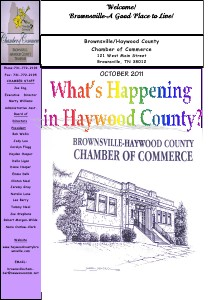 2011brownsville Chamber OCTOBER NEWSLETTER