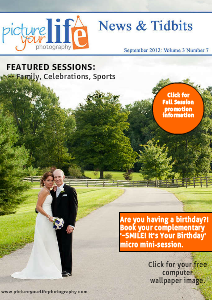 Picture Your Life Photography - News & Tidbits September 2012