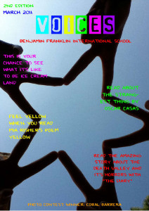 Voices Literary Magazine Edition 1 Voices Literary Magazine - Edition 2