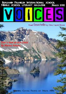 Voices Literary Magazine Edition 1 Voices