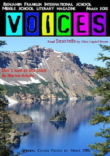 Voices Literary Magazine Edition 1