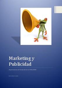Marketing y Publicidad-Dep. Formación Curso
