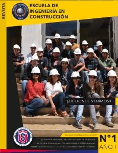 REVISTA DE LA ESCUELA DE INGENIERÍA EN CONSTRUCCIÒN septiembre 2012