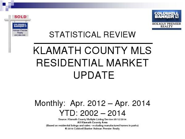 Statistics April 2014