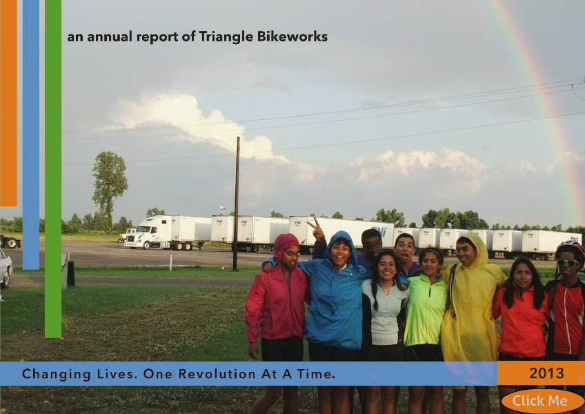 Triangle Bikeworks Annual Report 2013