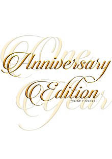 Alpha Fashion Magazine- Anniversary Edition