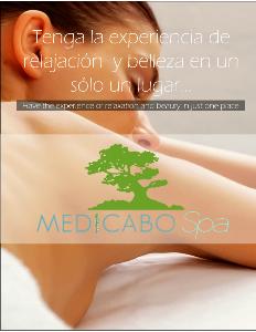 MEDICABO Spa Medicabo Spa menu