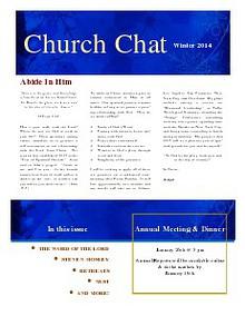 Winter Church Chat