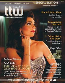 Ara Celi (Cover) - TTW Magazine Jan/Feb 2014 Special Edition