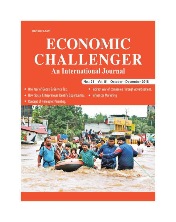 Economic Challenger Issue 81 Oct-Dec 2018