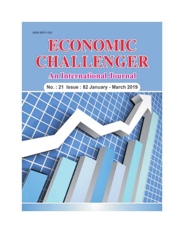 Economic Challenger Issue 82 Jan-Mar 2019