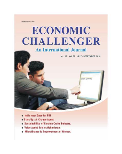 Economic Challenger Issue 72 July-September 2016