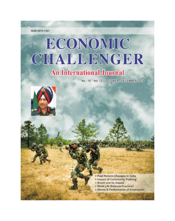Issue 73  Oct-Dec 2016