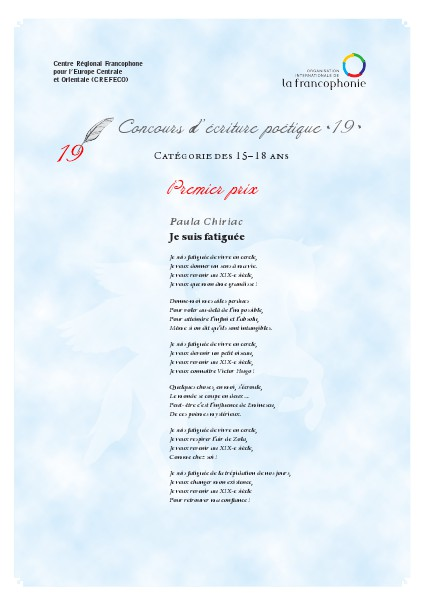 Le Poème Du Jour 18 Mars 2014 Quiosco Joomag