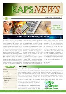 KAPS Newsletter 2014 JAN 2014