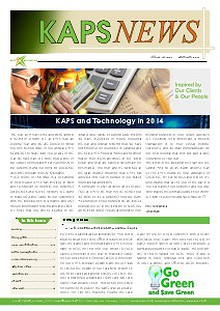 KAPS Newsletter 2014