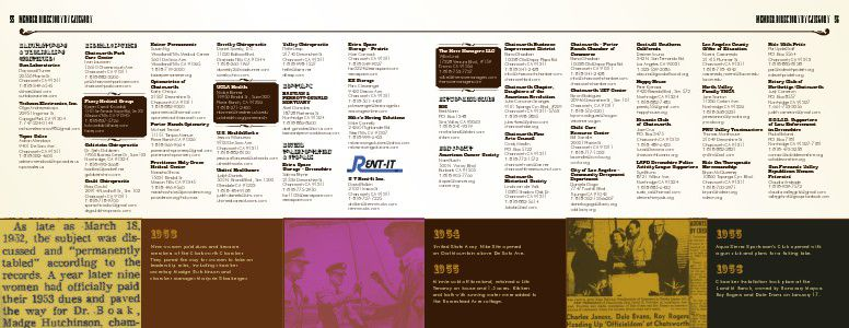 2013/2014 Chatsworth/Porter Ranch Chamber Of Commerce Business Directory U0026  Community Guide 2013/2014   Page 56