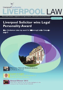 Liverpool Law Bulletin December 2013 December 2013