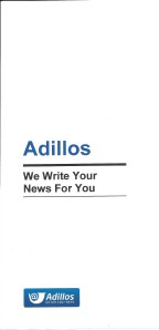 Adillos - Your Newsletters Are Important Volume 1