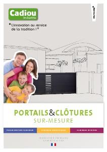 catalogues portails Portails CADIOU