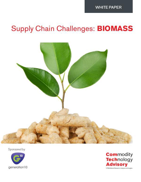 Supply Chain Challenges: BIOMASS