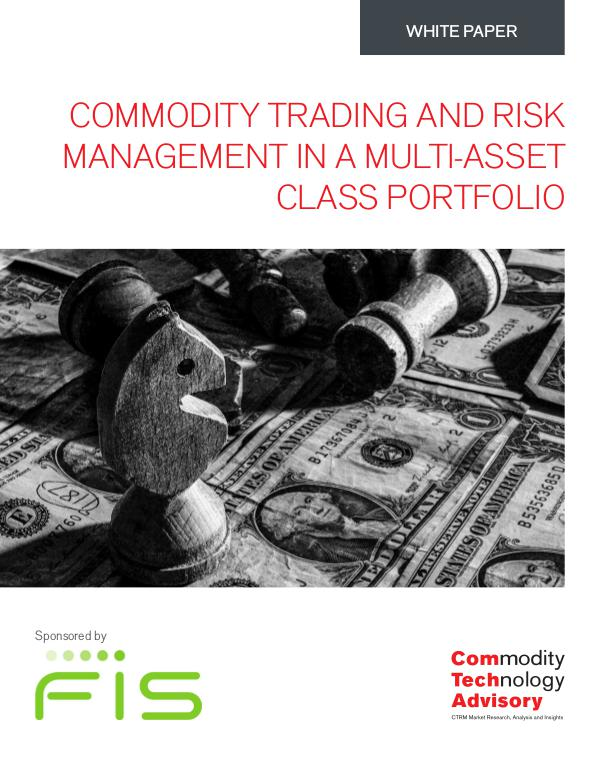 White Papers Commodity Trading and Risk  Management