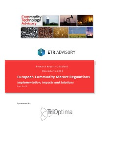 Research European Commodity Market Regulations - Part 2