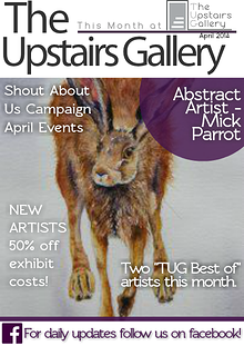 The Upstairs Gallery-This Month at TUG