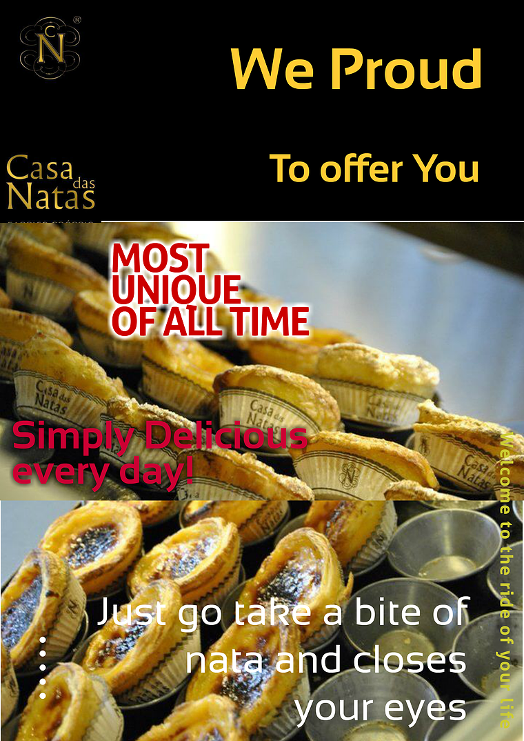 IMPOS Magazine Custard Tart