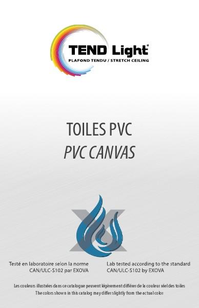 TENDLight Toiles PVC Canvas 1