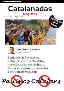 Catalanadas Magazine Nº 1 Semana 51 Diciembre 2013