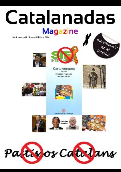 Catalanadas Magazine Nº 10 Semana 8 Febrero 2014