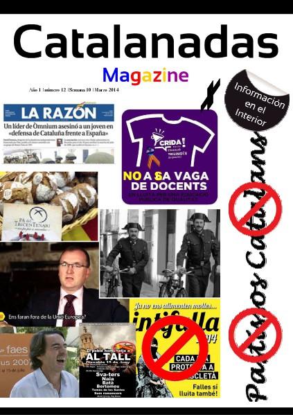 Catalanadas Magazine Nº 12 Semana 10 Marzo 2014