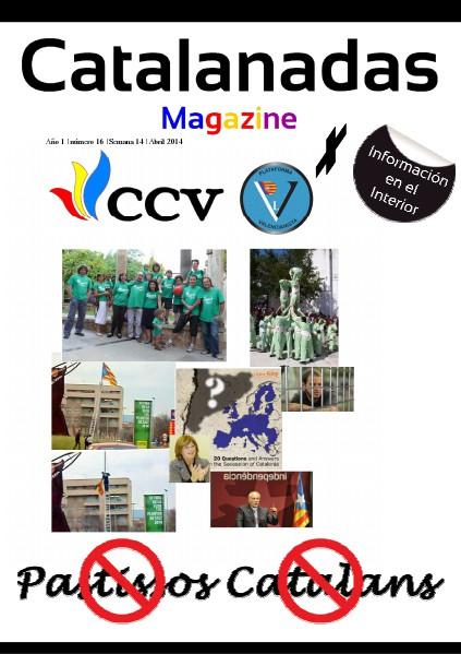 Catalanadas Magazine Nº 16 Semana 14 Abril 2014