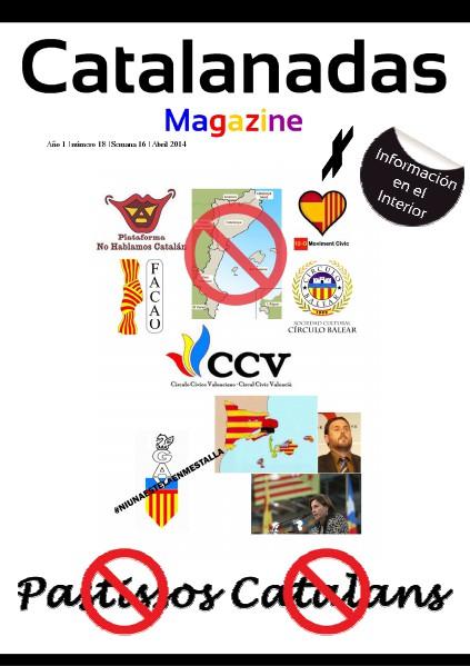 Catalanadas Magazine Nº 18 Semana 16 Abril 2014