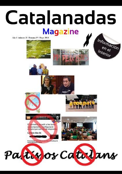 Catalanadas Magazine Nº 21 Semana 19 Mayo 2014