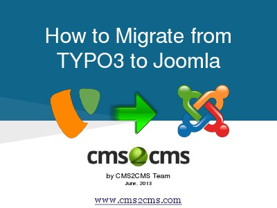 How to Migrate to Joomla in 15 Mins How to Migrate from TYPO3 to Joomla