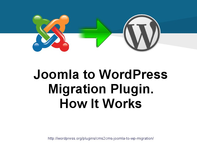 CMS2CMS Migration Plugins: Why and How Joomla to WordPress Plugin