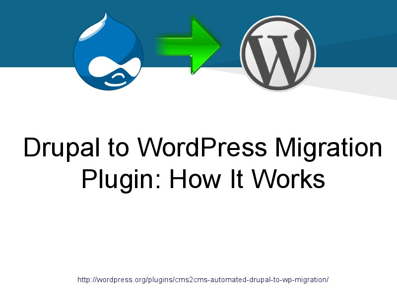 CMS2CMS Migration Plugins: Why and How Drupal to WordPress Plugin