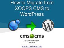 XOOPS CMS to WordPress Migration
