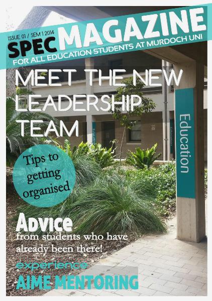 SPEC Magazine Issue 1