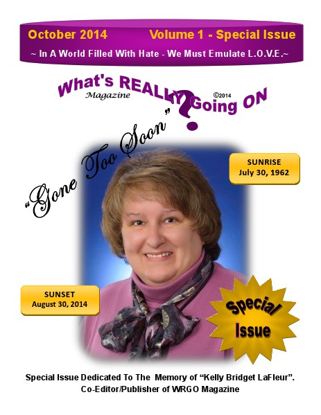 WRGO Special Issue In Memory of Kelly LaFleur Volume 1 - Special Issue