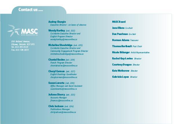 MASC Brochure MASC 18-19  English Brochure