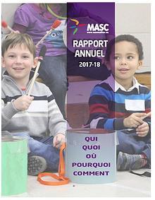Rapport annuel MASC